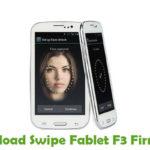 Swipe Fablet F3 Firmware