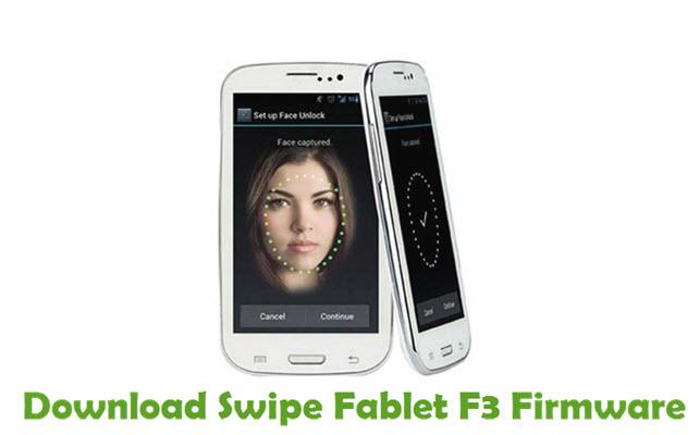 Download Swipe Fablet F3 Firmware