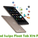 Swipe Float Tab X78 Firmware