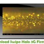Swipe Halo 3G Firmware
