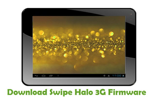 Download Swipe Halo 3G Firmware