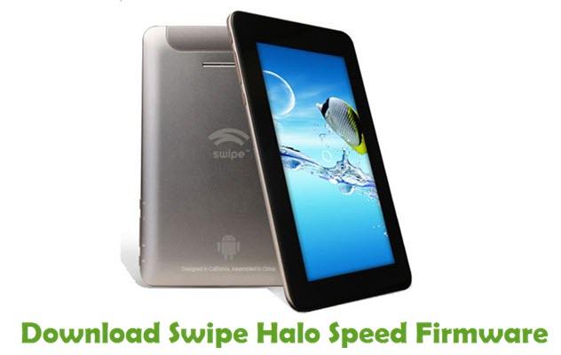 Download Swipe Halo Speed Stock ROM