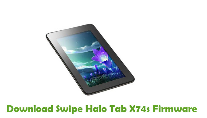 Download Swipe Halo Tab X74s Firmware