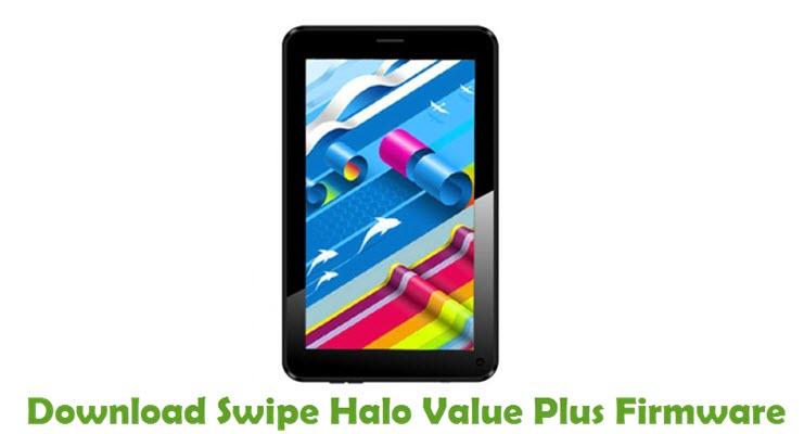Download Swipe Halo Value Plus Firmware