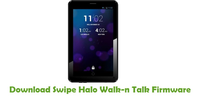 Download Swipe Halo Walk-n Talk Firmware