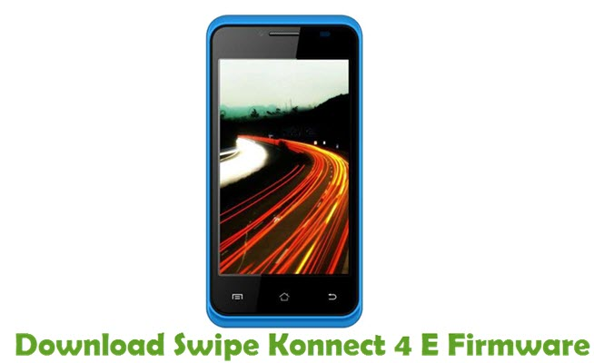 Download Swipe Konnect 4 E Firmware