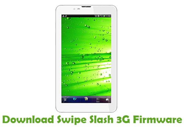 Download Swipe Slash 3G Firmware