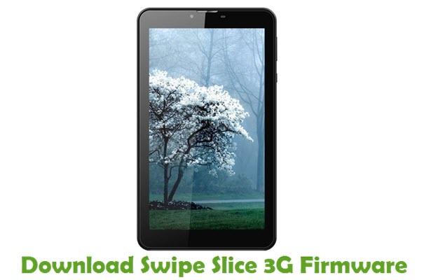Download Swipe Slice 3G Firmware