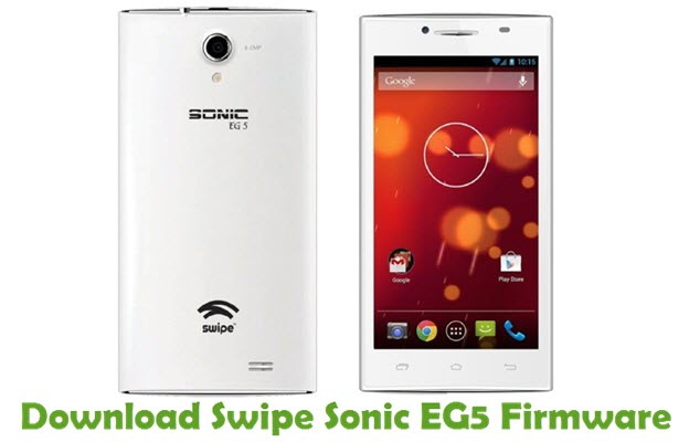 Download Swipe Sonic EG5 Firmware