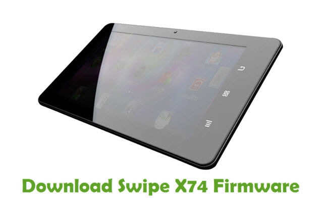 Download Swipe X74 Firmware