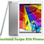Swipe X78 Firmware