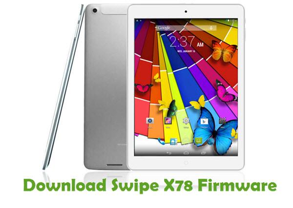 Download Swipe X78 Firmware