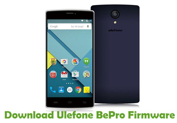 Download Ulefone BePro Firmware