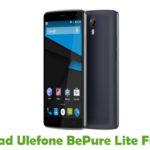 Ulefone BePure Lite Firmware