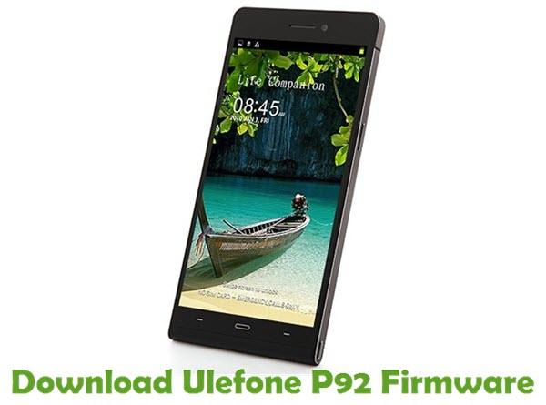 Download Ulefone P92 Firmware