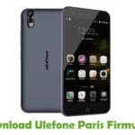 Ulefone Paris Firmware