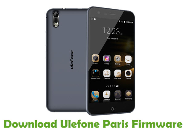 Download Ulefone Paris Firmware