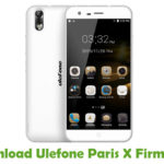 Ulefone Paris X Firmware