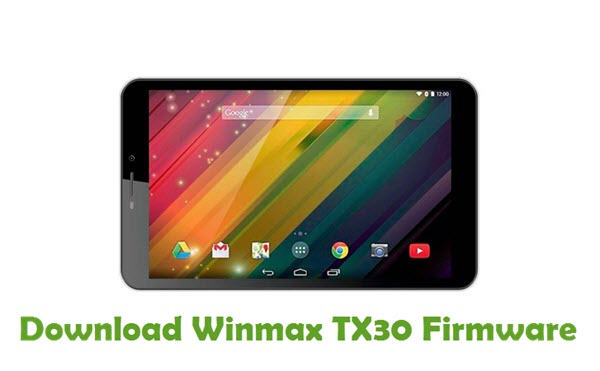 Download Winmax TX30 Firmware