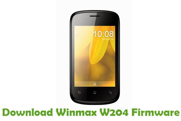 Download Winmax W204 Firmware