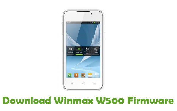 Download Winmax W500 Firmware