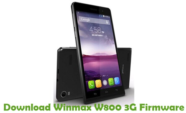 Download Winmax W800 3G Firmware