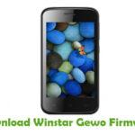 Winstar Gewo Firmware