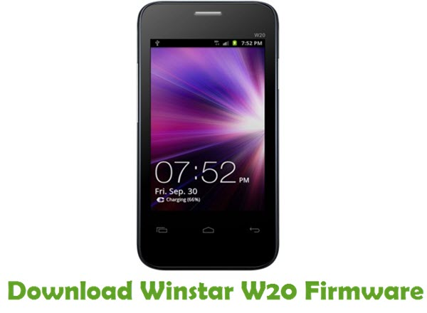 Download Winstar W20 Firmware