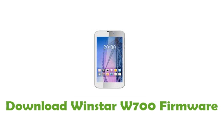 Download Winstar W700 Firmware