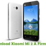 Xiaomi Mi 2 A Firmware