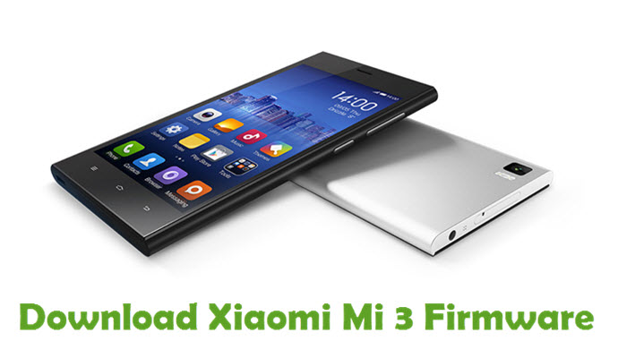 Download Xiaomi Mi 3 Firmware