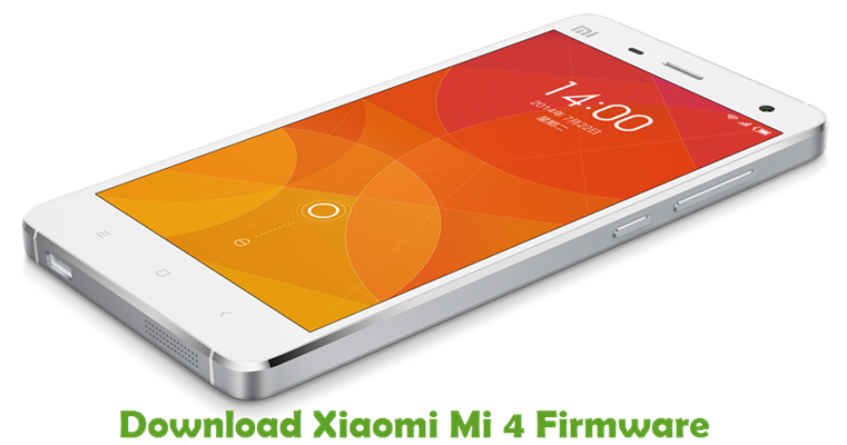 Download Xiaomi Mi 4 Firmware