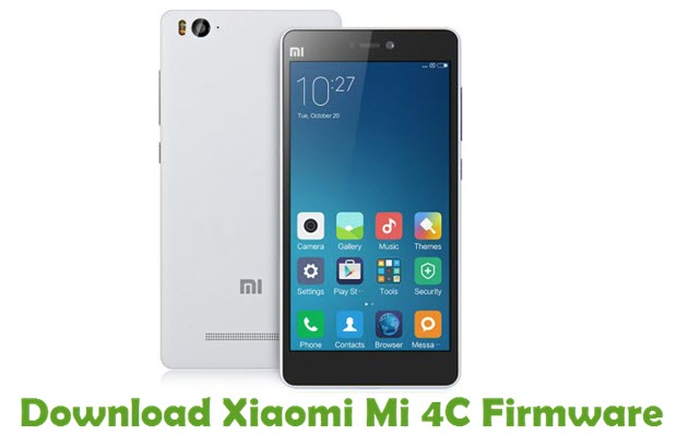Download Xiaomi Mi 4C Firmware
