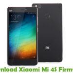 Xiaomi Mi 4S Firmware