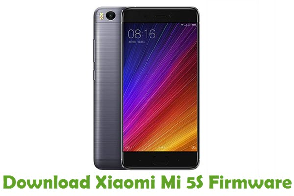 Download Xiaomi Mi 5S Firmware