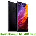 Xiaomi Mi MIX Firmware