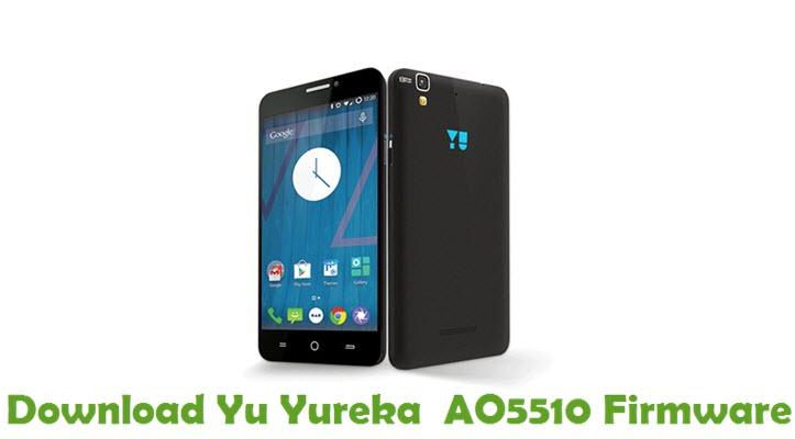 Download Yu Yureka AO5510 Firmware