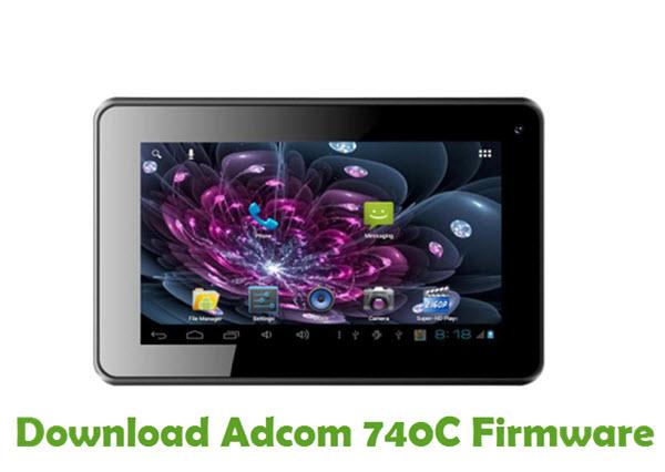 Download Adcom 740C Firmware