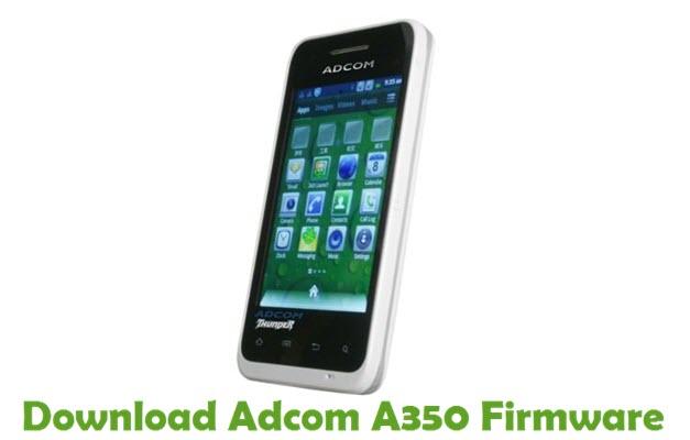 Download Adcom A350 Stock ROM