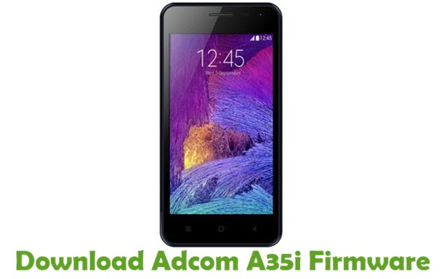 Download Adcom A35i Firmware
