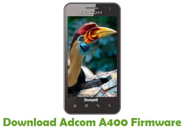 Download Adcom A400 Stock ROM