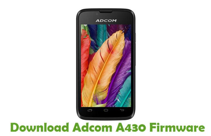 Download Adcom A430 Firmware