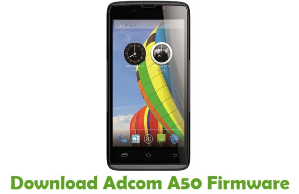 Download Adcom A50 Firmware