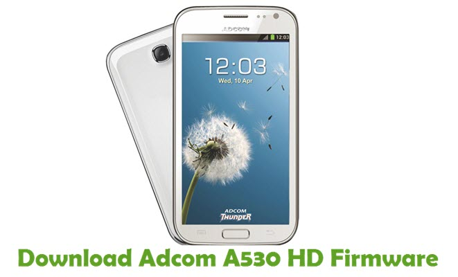 Download Adcom A530 HD Firmware