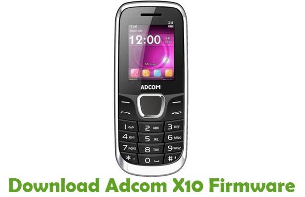 Download Adcom X10 Firmware