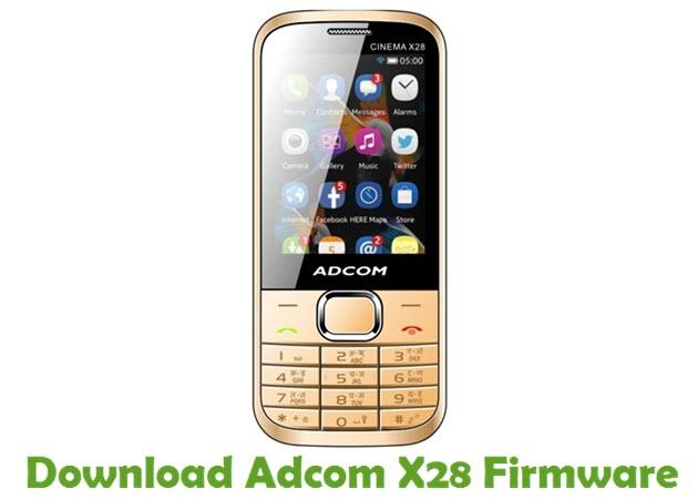 Download Adcom X28 Firmware