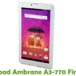 Ambrane A3-770 Firmware