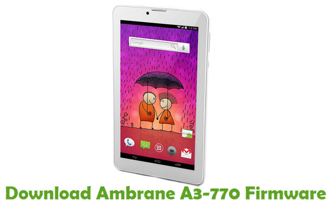 Download Ambrane A3-770 Stock ROM