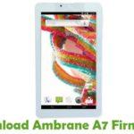 Ambrane A7 Firmware