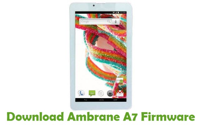 Download Ambrane A7 Firmware